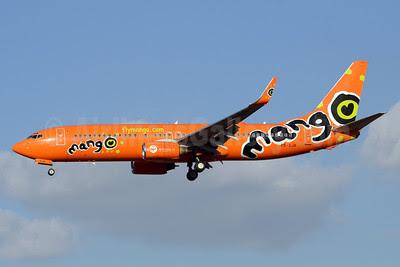 Mango (South African Airways) Boeing 737-8BG WL ZS-SJK (msn 32355) JNB (TMK Photography). Image: 913072.