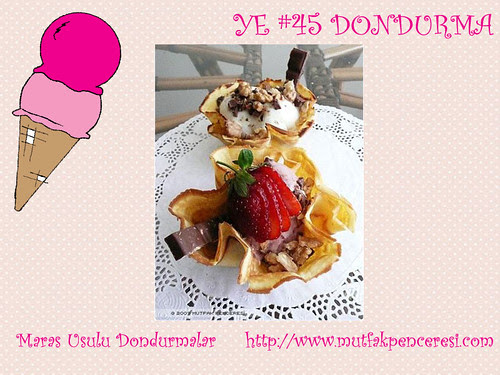 Maras Usulu Dondurmalar - Mutfak Penceresi