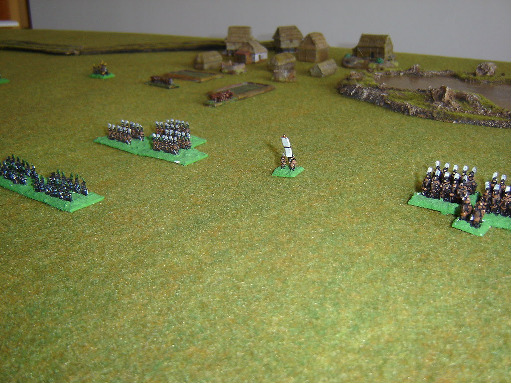 Ikeda force guard the extreme left flank