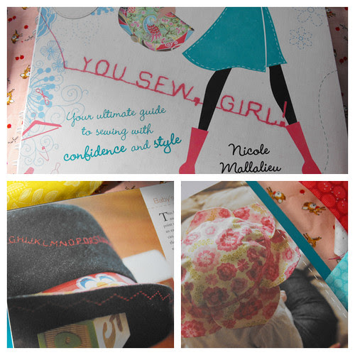 You Sew Girl book hats