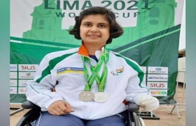 पूजा अग्रवाल ने वर्ल्ड शूटिंग पैरा स्पोर्ट्स कप में जीते दो सिल्वर मेडल