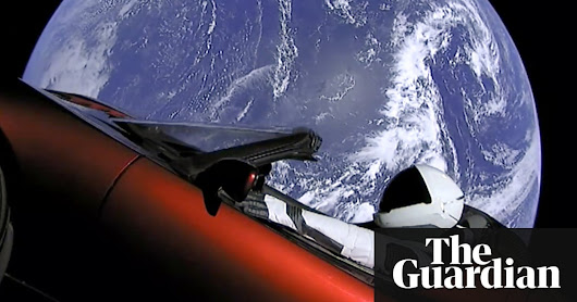 SpaceX oddity: how Elon Musk sent a car towards Mars | Science | The Guardian