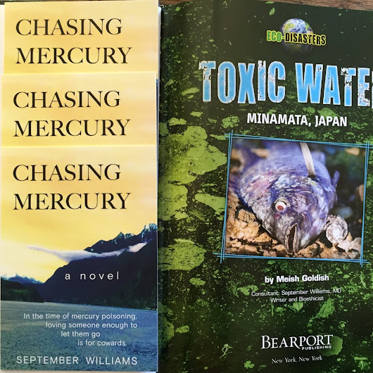 September Williams Author of Chasing Mercury and Toxic Water Minamata Japan Children's book