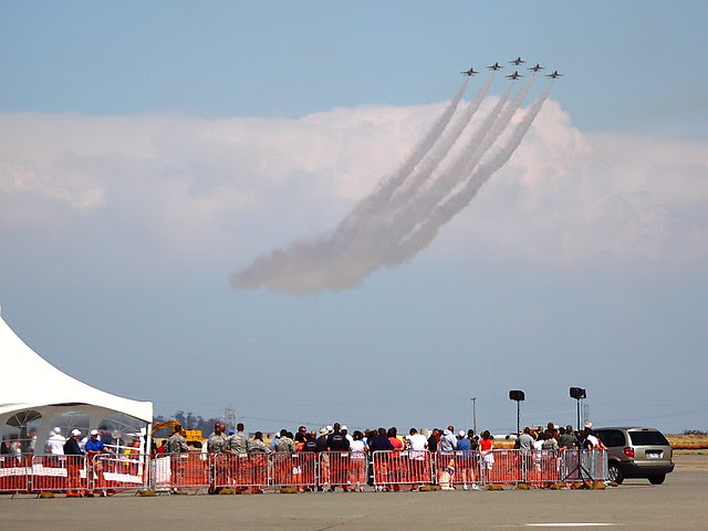 IMG_3348 Thunderbirds, Travis AFB Air Show