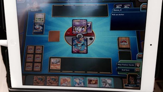 Pokemon is coming to the iPad ... as a card game!