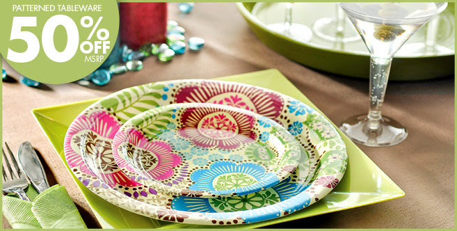 Fashion Floral Party Supplies - Party City