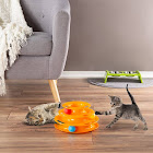 Petmaker Interactive Cat Toy Ball Roller Tower- 3 Level Tiered Round Track with Rolling Balls for Cats and Kittens for Play by PE