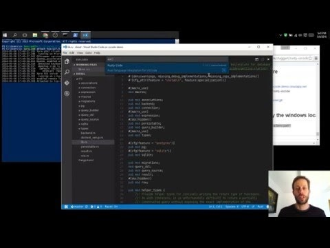 RustyCode Running on Docker in Azure & Displaying Locally