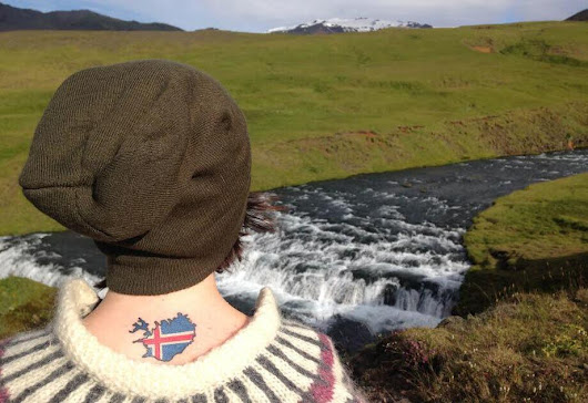The Girl With the Iceland Tattoo