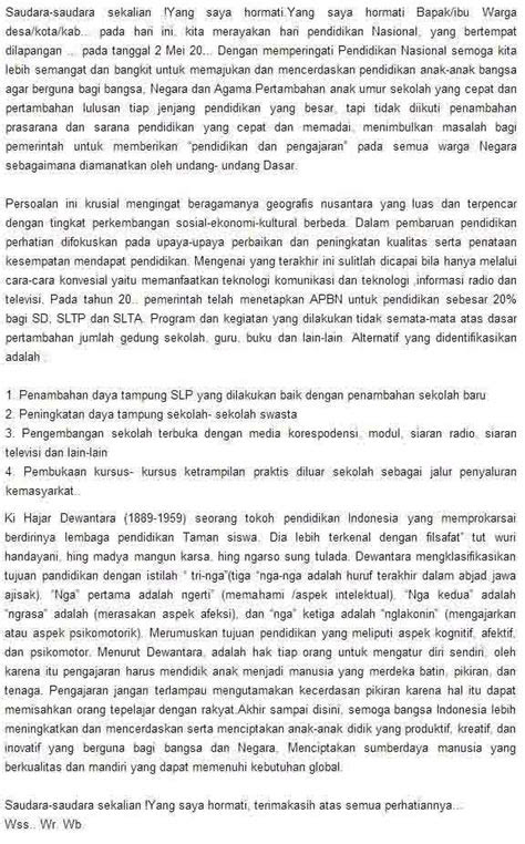 tema unik  menarik  pidato bahasa indonesia