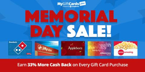 Happy Memorial Day from MyGiftCardsPlus - Day to Day Life