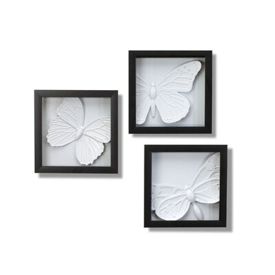 Umbra Blooma Three-Dimensional Wall Decor (Set of 6) | AllModern