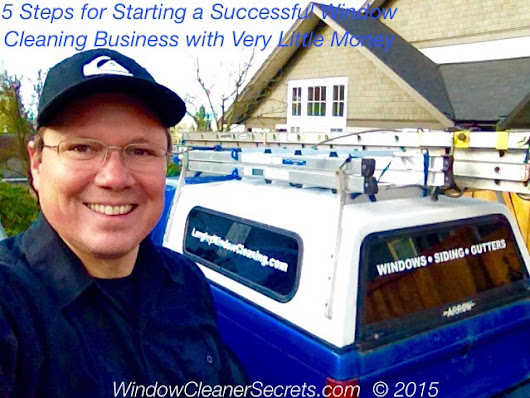 How to start a window cleaning business with little money