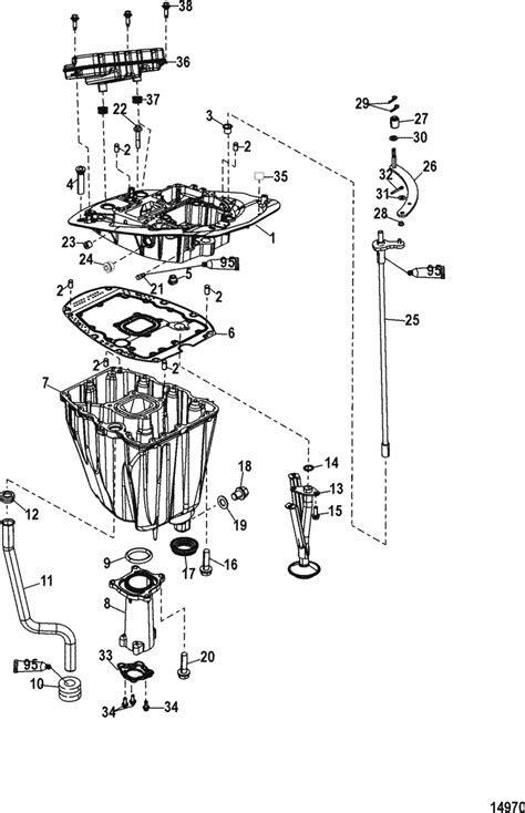 Mercury Marine 115 HP EFI (4-Stroke) Adaptor Plate Parts