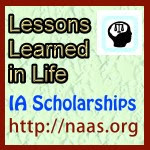 Lessons Learned in Life Scholarships for Iowa students