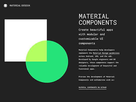 Google's Material Design UI Components - Freebiesbug