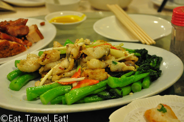 Stir Fried Carp