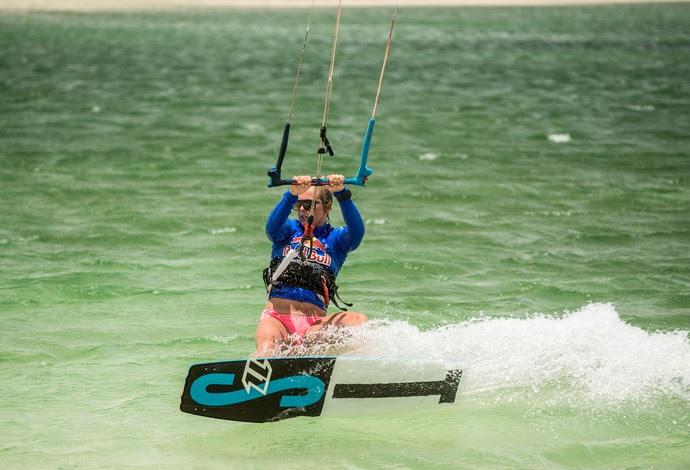 Kitesurfe, Kristiin Oja, Rally dos Ventos de kitesurfe, Lençóis Maranhenses (Foto: Marcelo Maragni / Red Bull Content Pool)