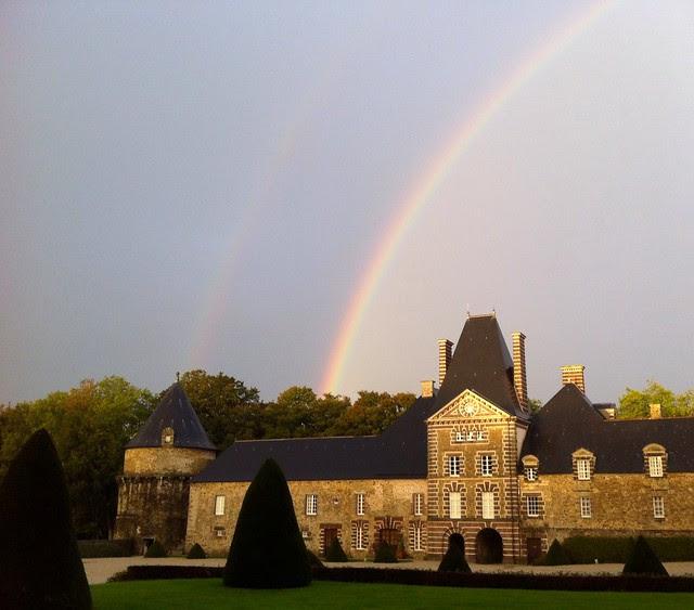 Rainbow over Canisy