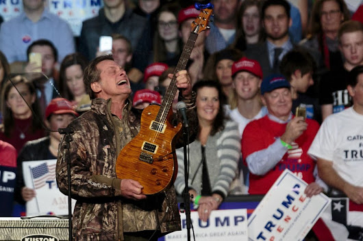 NRA board member Ted Nugent says Parkland students 'have no soul' - The Washington Post
