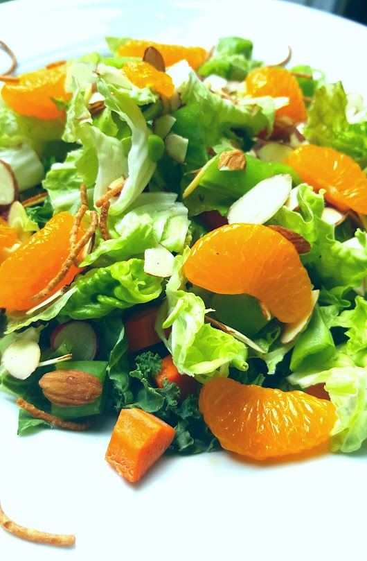 Easy Mandarin Salad Recipe - Intentionally Eat