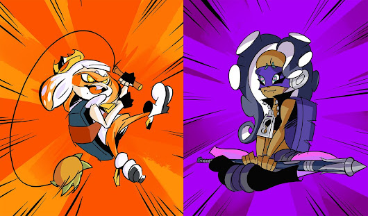 Splatoon 2: svelati i risultati dello Splatfest europeo, Teenage Mutant Ninja Turtles: Michelangelo o Donatello?