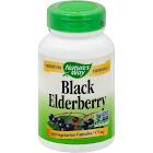 Natures Way Black Elderberry, 575 mg, Vegetarian Capsules - 100 capsules