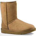 UGG Classic Short II Suede Boots - Chestnut 6M