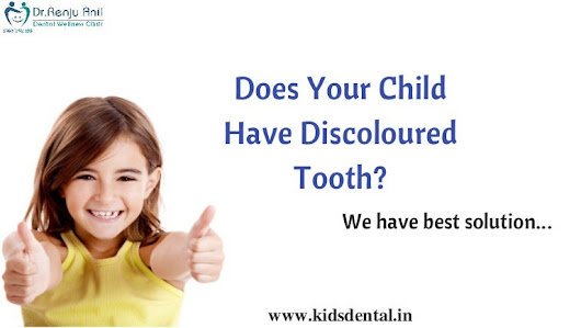 Treatment For Tooth Discoloration In Thrissur | Paediatric Dentist In…