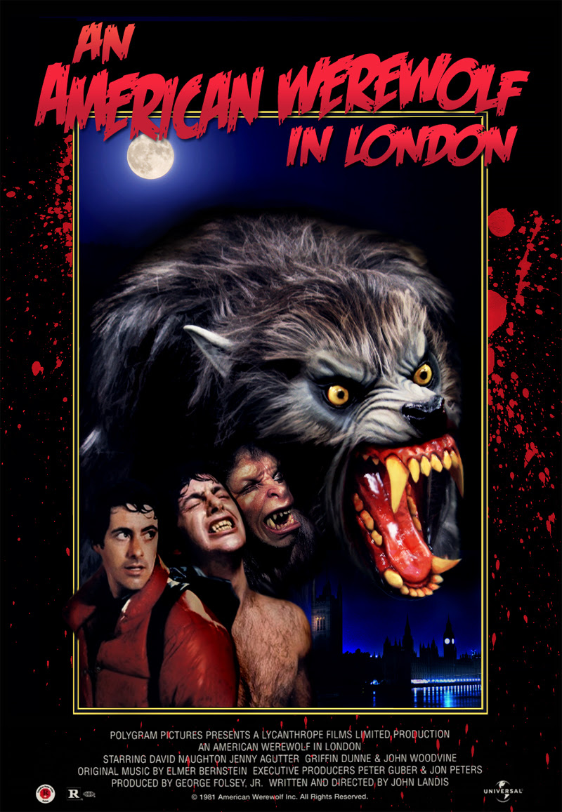 Resultado de imagem para An American Werewolf in London posters
