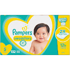 Pampers Swaddlers Disposable Diapers, Size 5 - 132 count