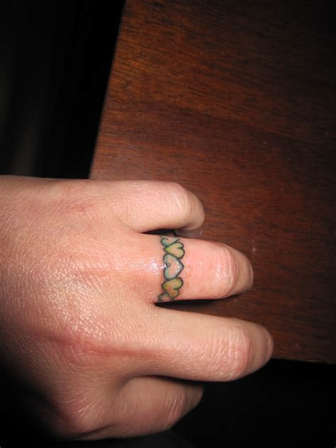 My tattoo wedding ring/wedding band   tattooz   Pinterest