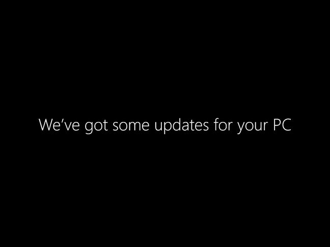Windows 10 tiene algunas actualizaciones para instalar