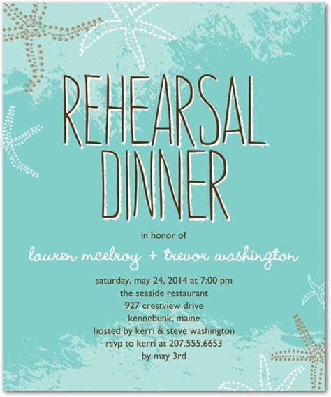10 Easy and Unique Rehearsal Dinner Invitations ? BestBride101
