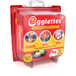 As Seen On TV Egglettes Hard Boiled Egg Maker, Red - 4 count
