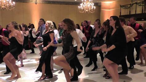 Surprise Flash Mob Dance at Wedding by Bridesmaid   YouTube