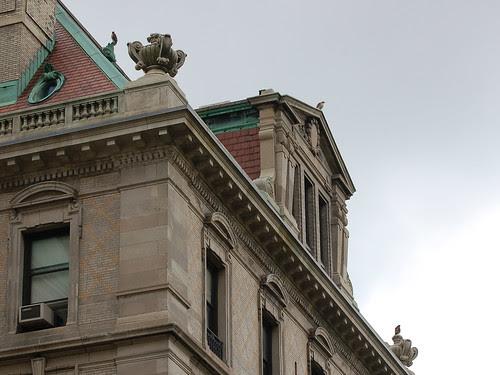 Three Hawks atop St. Luke's
