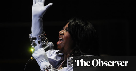 Aretha Franklin's famous outfits auctioned in New York | Music | The Guardian