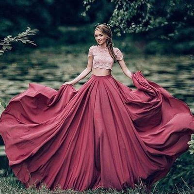 Ball Gown Prom Dress New Gorgeous burgundy Sweep Train