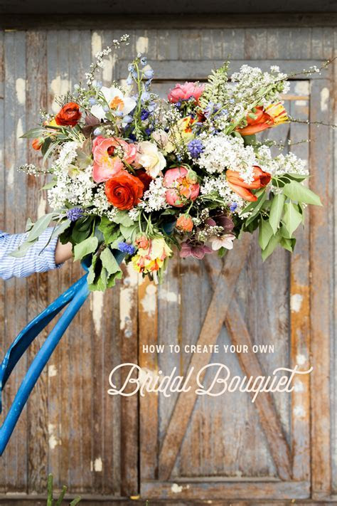 How to Make your own Bridal Bouquet   The House That Lars