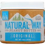 Natural Way: Peanut Butter Original, 16 Oz