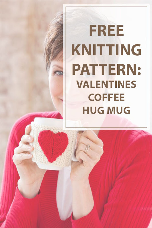 Valentines Free Knitting Pattern - Housewives Hobbies