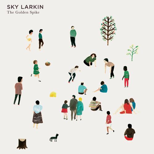 Design for Sky Larkin Album 'The Golden Spike' by Nous Vous