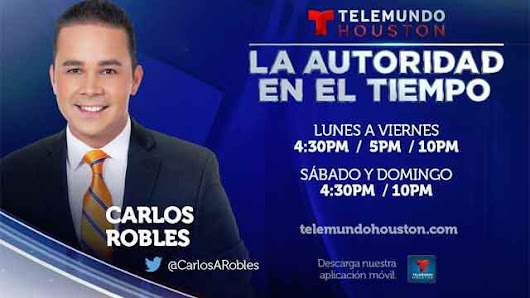 Carlos Robles promoted to Telemundo Houston chief meteorologist