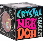 NeeDoh The Groovy Glob Crystal PINK 2.5-Inch Small Stress Ball