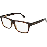 8a8c43b128 Gucci GG0269OA 001 Black Rectangular Eyeglasses - Google Express