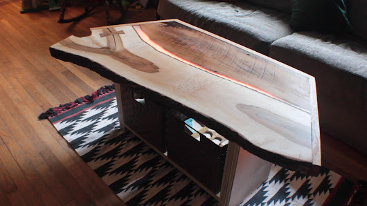 Build a Tron-Inspired Coffee Table — Furniture | Make: