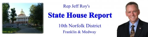 Rep Jeff Roy newsletter