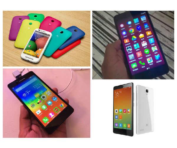 7 hot smartphones under Rs 10,000