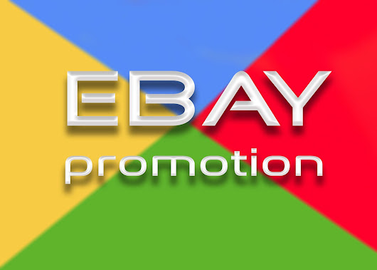 BOOST your eBay store promotion - #SEOmicroJobs
